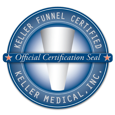 Are you interested in having Dr. Harris use a Keller Funnel in your case? Ask him for details!